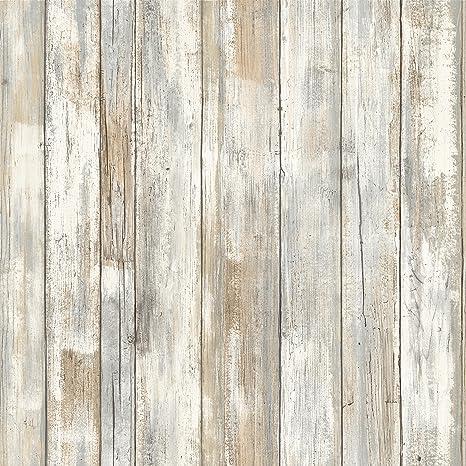 Thedecofactory Rmk9050wp Papier Peint Ahesif Repositionnable Planche