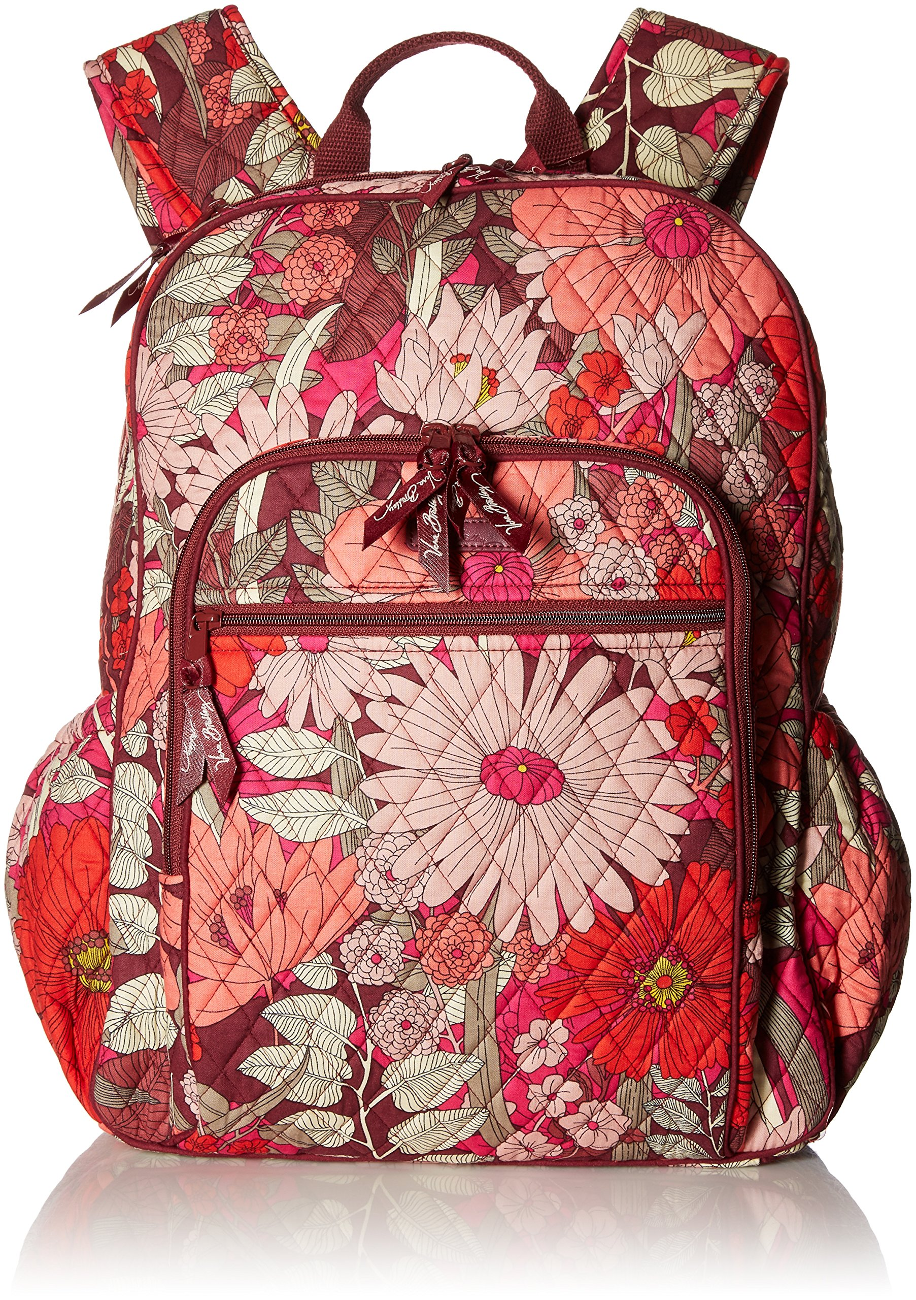Women's Campus Tech Backpack, Signature Cotton, Bohemian Blooms