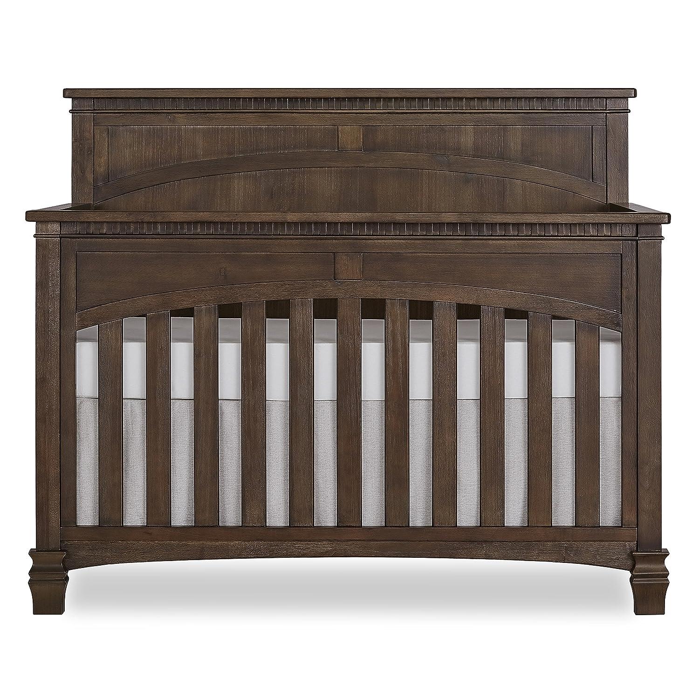 Evolur Santa Fe 5 in 1 Convertible Crib, Antique Brown