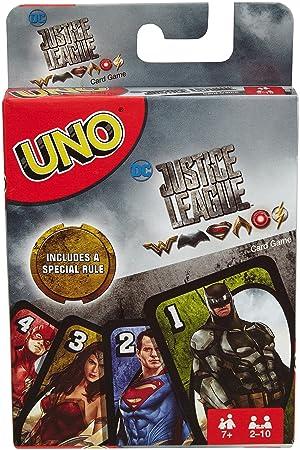 UNO juego de cartas DC Justice League: Amazon.es: Juguetes y ...
