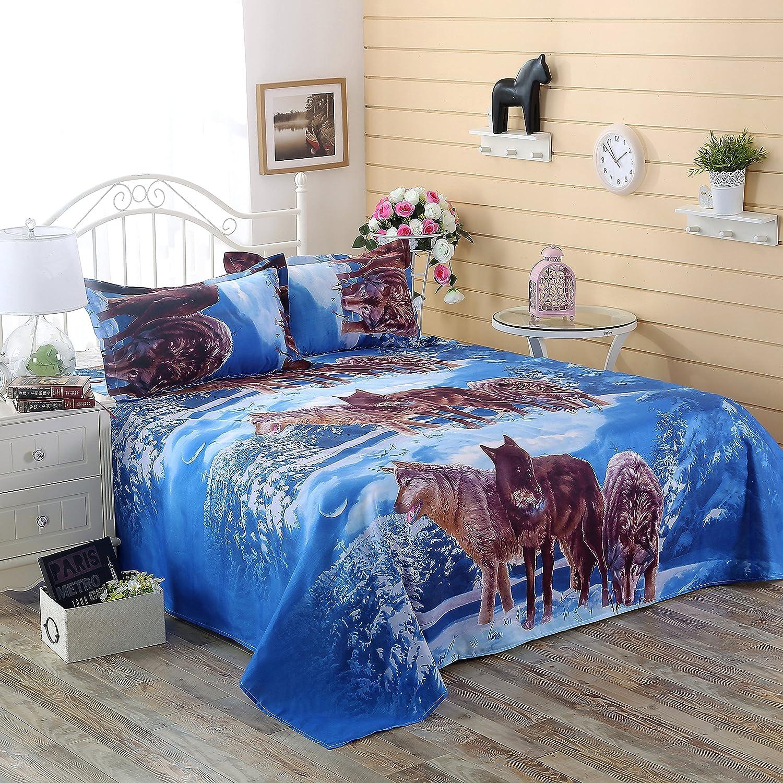 Amazon Wolf Bedding Set Queen Size Wolf Print Bedding Set Manly