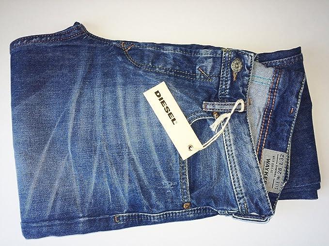 Diesel waykee 0814e 814e Hombre Jeans Pantalones Regular ...