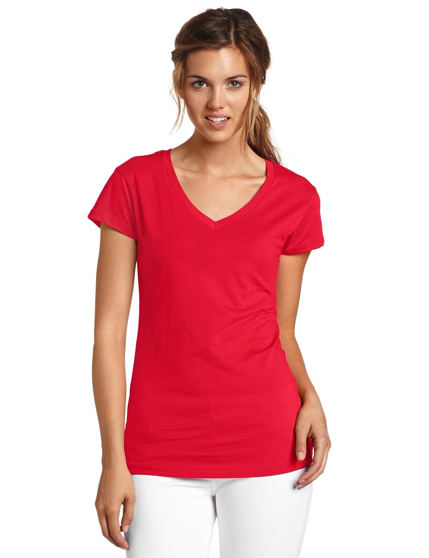 7c14a10b6fe Amazon.com  Dickies Juniors  Solid Cap-Sleeve V-Neck T-Shirt  Clothing