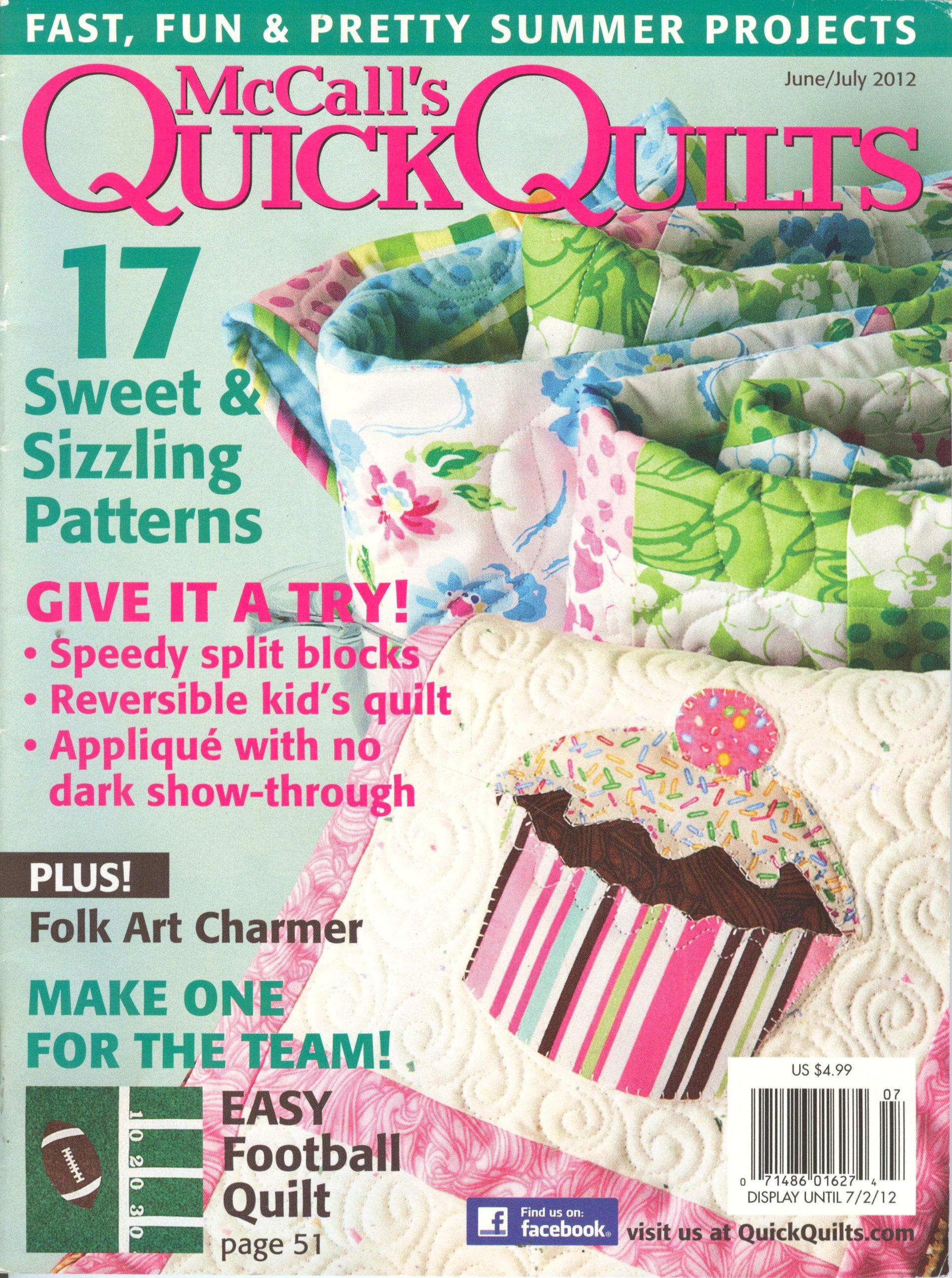 McCall`s Quick Quilts (June/July 2012, Volume 17 # 4) pdf epub