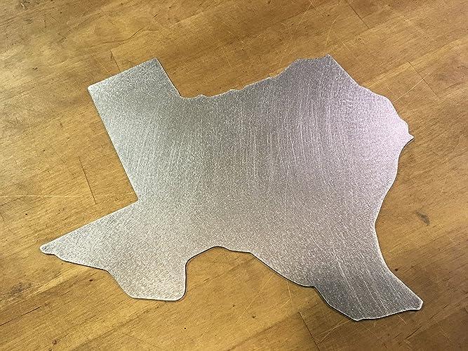 Amazon.com: Texas State Outline Border sign steel metal wall art ...
