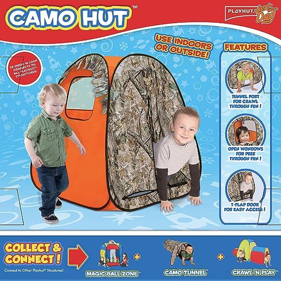 Playhut Just Like Dad Camo Classic Hideaway Play Tent Amazonin