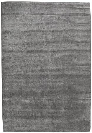 Bambus Seide Loom Grau Teppich 170x240 Moderner Teppich Amazon De