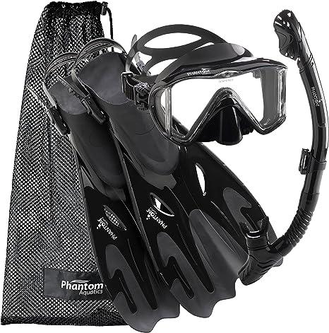 Phantom Aquatics Navigator Mask Fin Snorkel Set