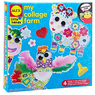 ALEX Toys Little Hands My Collage Farm: Toys & Games [5Bkhe1401417]