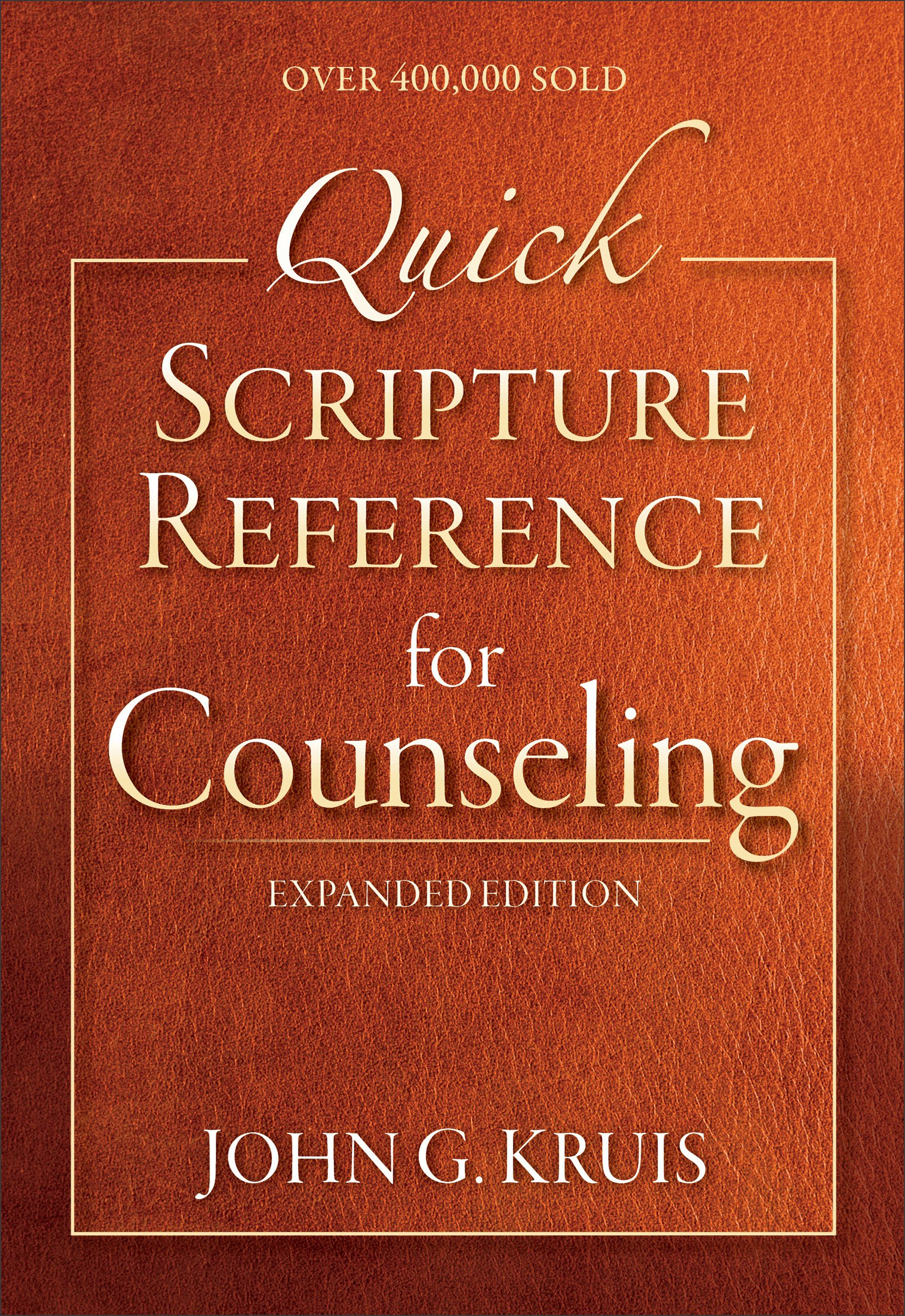amazon com quick scripture reference for counseling