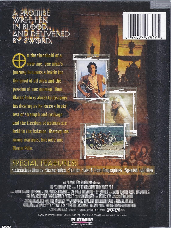 Marco Polo [USA] [DVD]: Amazon.es: Don Diamont, Oliver Reed, Jack ...