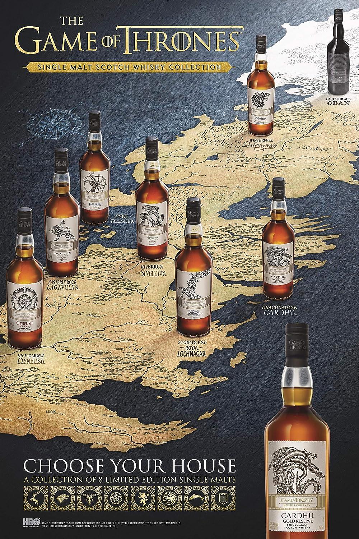 Juego de Tronos y sus 8 Whiskies Escoceses Premium de Malta