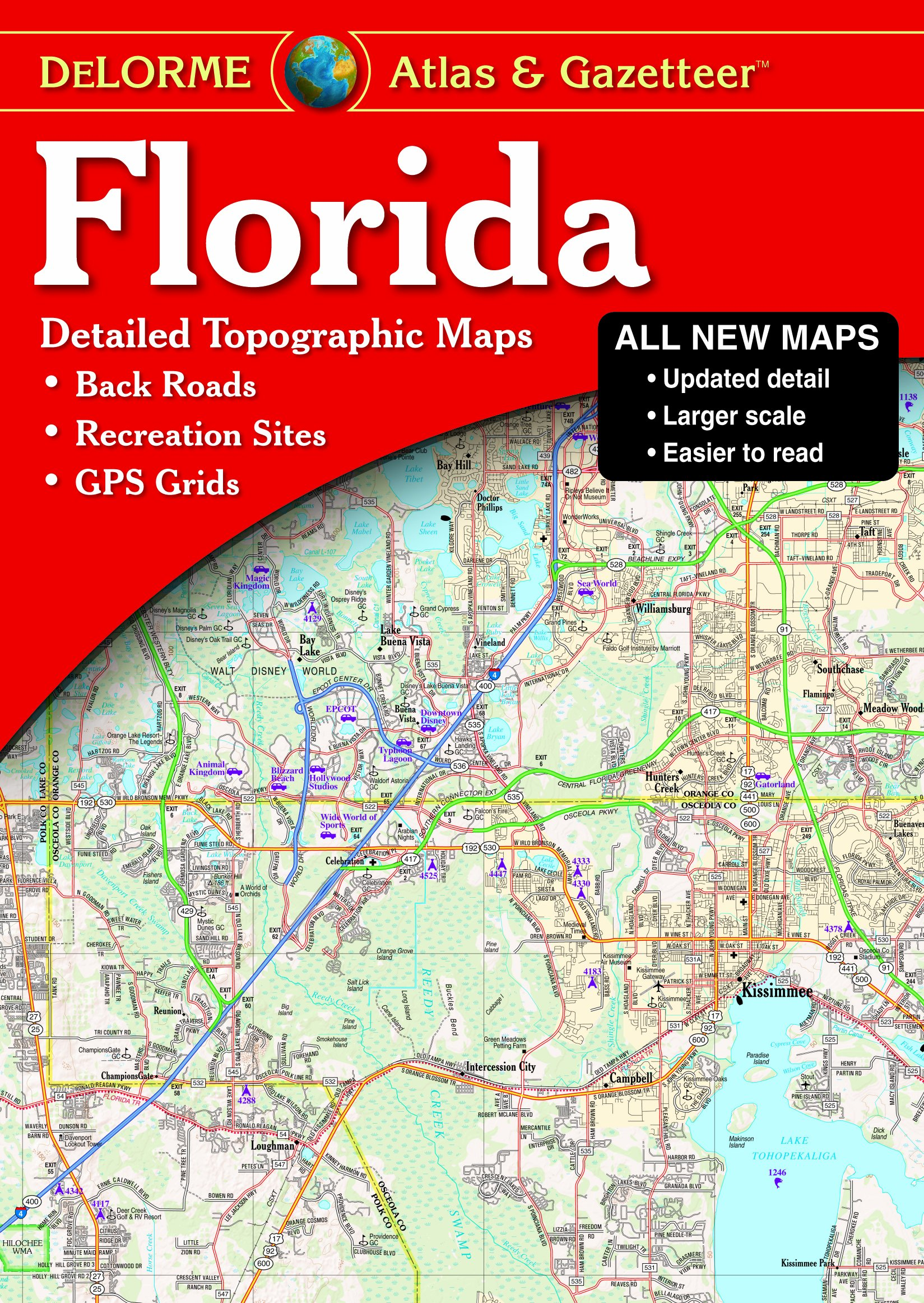 florida atlas u0026 gazetteer delorme atlas u0026 gazetteer delorme