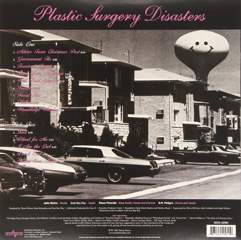 Vinyl Plastic Surgery Disasters