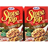 Stove Top Stuffing Mix, Turkey, 6 Ounce Box (Pack of 12)