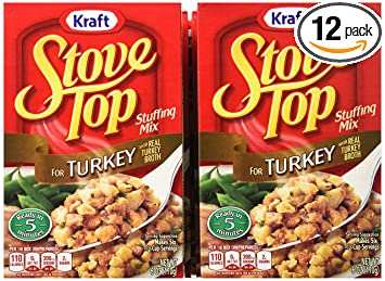 amazon com stove top stuffing mix turkey 6 ounce box pack of 12