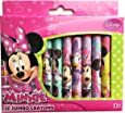 Disney Minnie Mouse 12 Jumbo Crayons for Toddler Kids