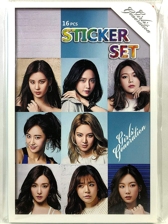 Girls (Girl'sGeneration   SNSD)   photo sticker seal 87 sheets (16 sheets) set  Photo Sticker 87pcs (16sheets) (TradePlace KPOP goods   made in Korea)