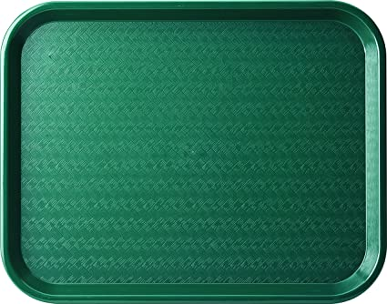 Carlisle CT121608 Cafe Standard Plastic Cafeteria/Fast Food Tray ...