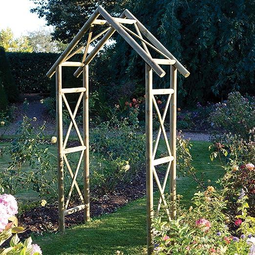 Arco de jardín Rowlinson: Amazon.es: Jardín