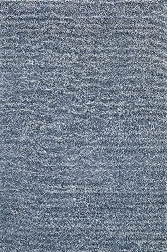 Loloi HAPPY SHAG Area Rug, 5 -0 x 7 -6 , DENIM