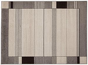 ABC Tappeto Casa Grigio 120 x 180 cm