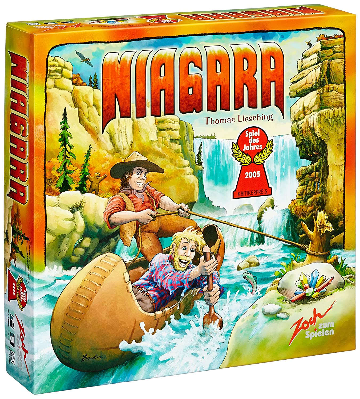 Reducción de precio Zoch Niagara Viajes/aventuras - Juego de tablero (Viajes/aventuras, 45 min, Niño/niña, 8 año(s), 297 x 72 x 297 mm, 297 mm)