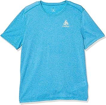 Odlo S/S Crew Neck Millennium Element - Camiseta Hombre: Amazon.es: Deportes y aire libre