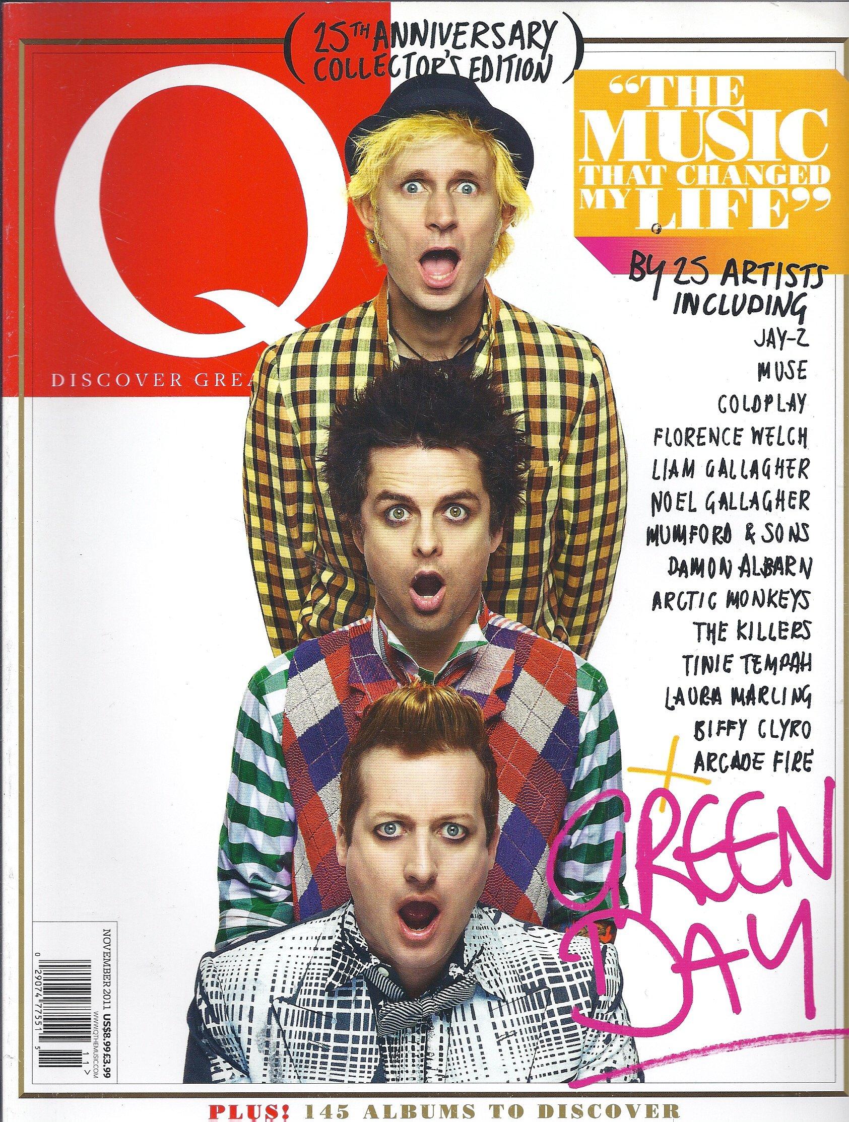 Q Magazine (November 2011, Green Day, 25th Anniversary
