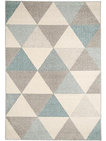 Benuta Teppich Pastel Geomet Türkis 80x150 Cm | Moderner Teppich Für Wohn   Und Schlafzimmer