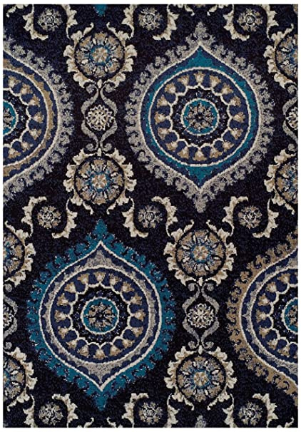 Swell Large 8X11 Black Modern Rugs For Living Room Blue Gray Navy Beige Ivory Area Rug 8X10 Clearance Under 100 Dining Room Size Rugs Clearance Download Free Architecture Designs Pendunizatbritishbridgeorg