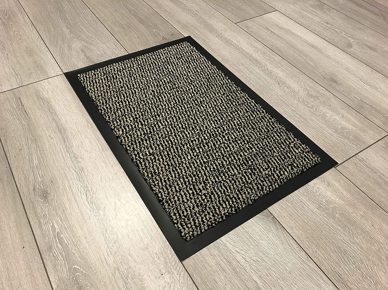40 x 60 cm Serdim Rugs Tappetini in Gomma Antiscivolo 14 x112 Beige