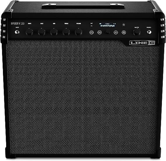 Line 6 Spider V 120 · Amplificador de Guitarra Eléctrica: Amazon ...