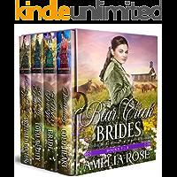 Bear Creek Brides: Books 5 - 8: Mail Order Bride Historical Western Romance (Bear Creek Brides Collection Book 2)