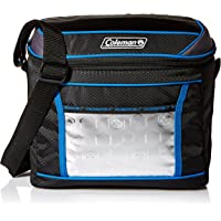 Coleman Company 24 Hour 16-Can Cooler, Black/Blue