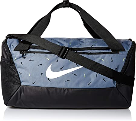 Sinfonía tierra pedazo  NIKE Brasilia Small Duffel - 9.0 All Over Print 2, Cool Grey/Black/White,  Misc: Amazon.co.uk: Sports & Outdoors