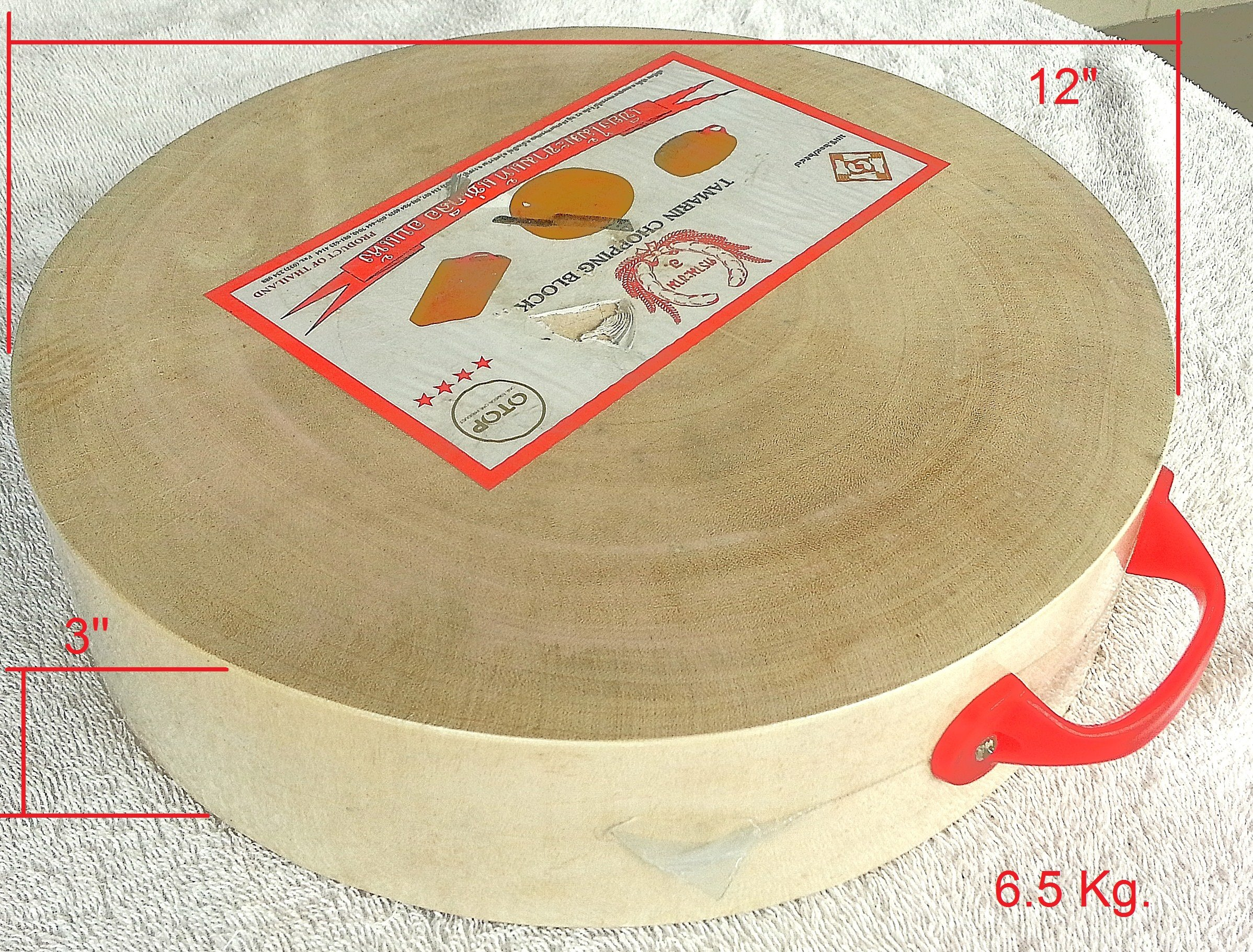 Large 12'' in Pile of Tamarind Wood Cutting Chopping Board Cutlery Wooden Butcher Block Countertops Culinary Arts Thailand Product with aboriginal chopping boards by OTOP Thai