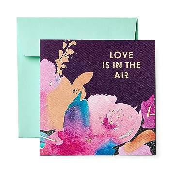 Amazon.com: Tarjeta de felicitación floral – compromiso ...
