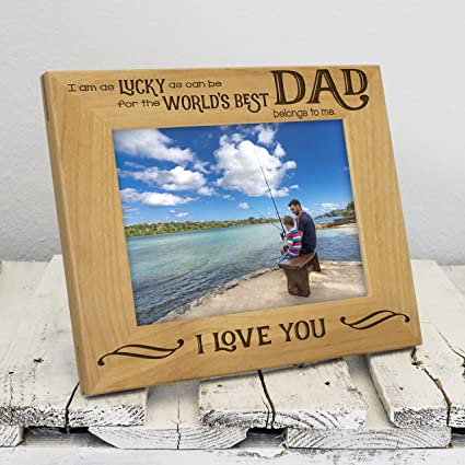 amazon com worlds best dad picture frame fathers day gifts dad