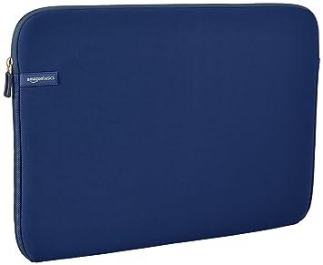 """AmazonBasics NC1407073F1 - Funda para ordenadores portátiles (17.3""""), color azul marino"""