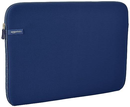 1625 opinioni per AmazonBasics- Custodia per computer portatile da 17,3 pollici, blu navy