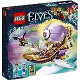 Lego 41184 - Elves - Jeu de Construction - Le Dirigeable d'Aira et la Poursuite de l'Amulette