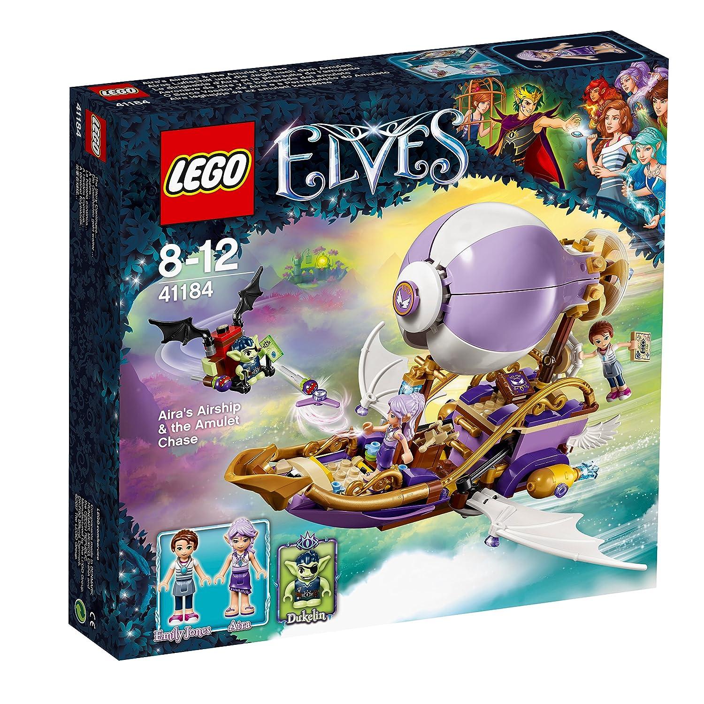 Hypermoderne LEGO Elves 41184 - Airas Luftschiff und die Jagd nach dem Amulett NW-48