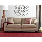 "Serta RTA Palisades Collection 78"" Sofa in Flagstone Beige"