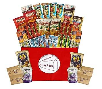 Caja de regalo para aperitivos saludables, para el colegio ...