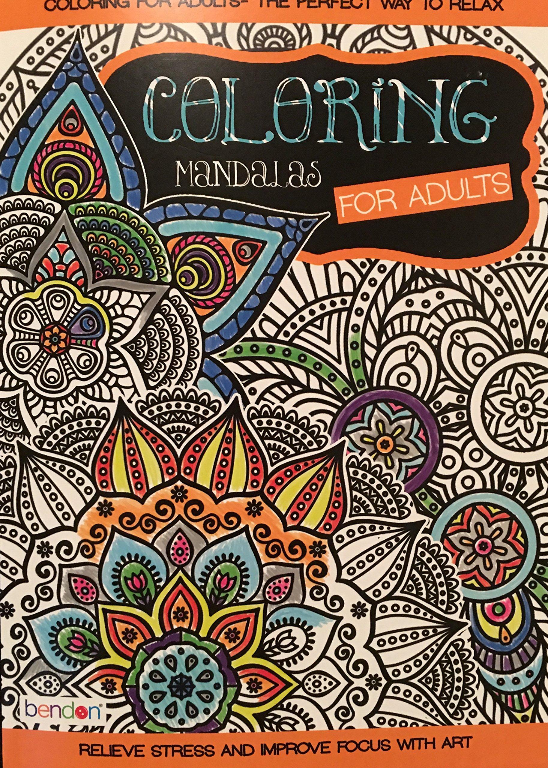 Bendon Coloring Mandalas for Adults Coloring Book: Bendon ...