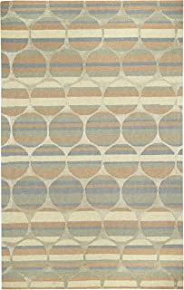 product image for Capel Rugs Kevin O'Brien Bucine Rectangle Hand Tufted Area Rug, 5 x 8, Taupe