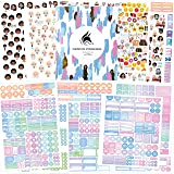 Planner Stickers by Clever Fox - 1,500+ Productivity, Budget, Fitness, Mom, Student, Classic, Number, Holiday Stickers for Your Monthly, Weekly & Daily Planner, Calendar or Journal