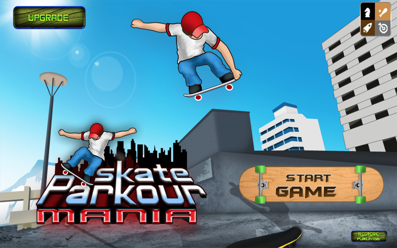 Amazon com: Skate Parkour Mania: Appstore for Android