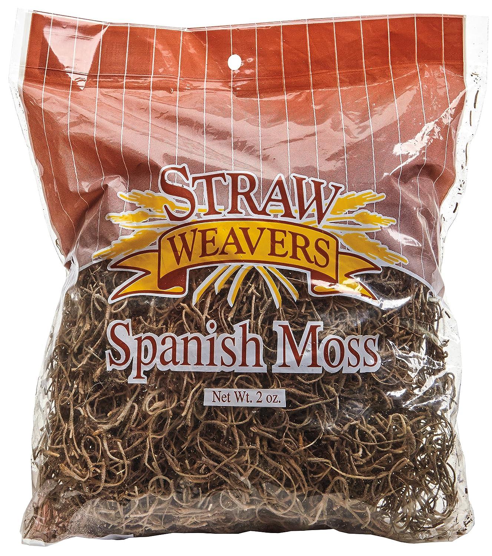 FloraCraft Spanish Moss, 250 cu in (4 Liters) Bag SM8/24